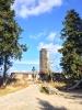 Der Ochsenkopf, 1024m hoch gelegen mit seinen Aussichtsturm. In gut einer Stunde Fußmarsch zu erreichen.