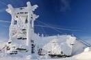 Winter in mitten des hohen Fichtelgebirges